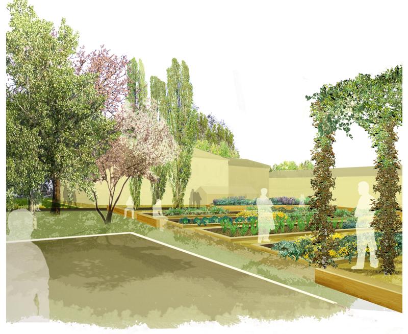 disegno Casa Giardino : Giardino di Villa Maraffa